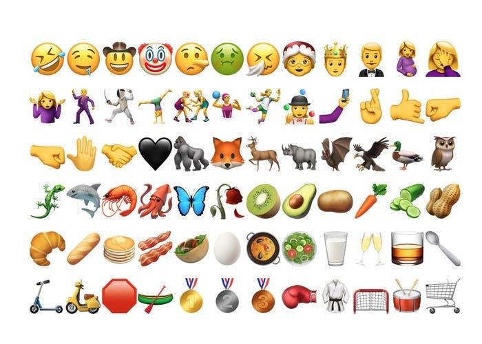 Conoce los 72 nuevos emojis disponibles en iOS 10 2