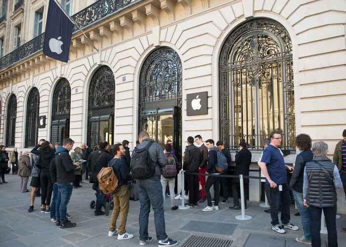 nueva tienda Apple en Paris