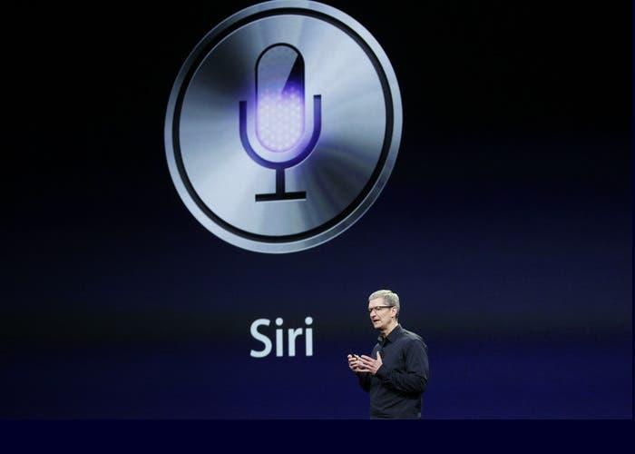 Siri integrado iMessage