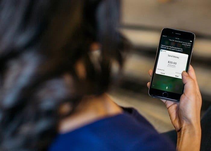 Enviar y recibir dinero en PayPal con Siri