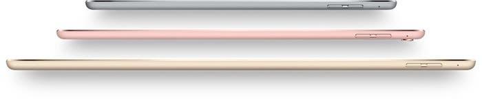 iPad biseles delgados y sin boton home