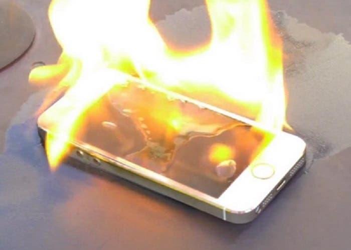 iPhone causa quemaduras en el brazo de una mujer