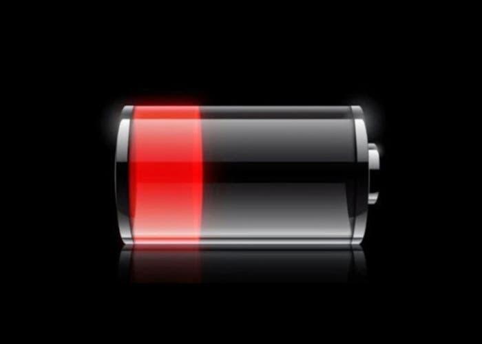 Batería baja en iPhone