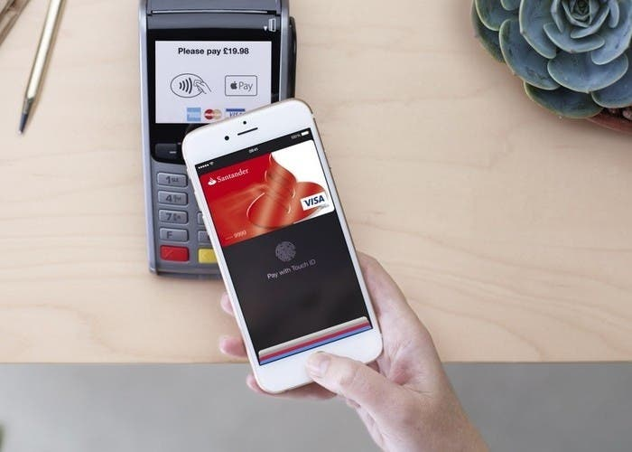 Apple Pay ya es oficial en Espana