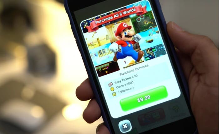 Bug Super-Mario Run par vincularse a Facebook