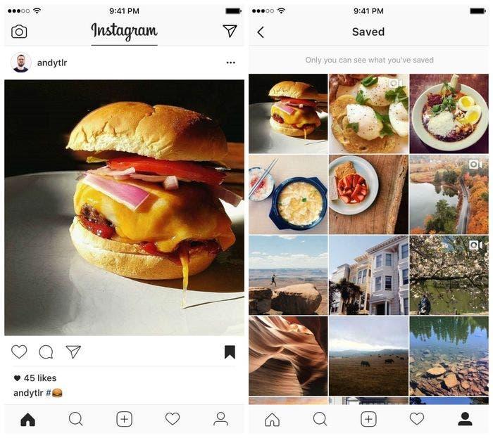 guardar fotos directamente desde instagram