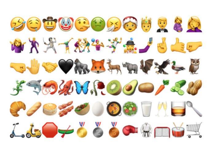 Nuevos emoticonos, paella y  facepalm para iOS 10.2