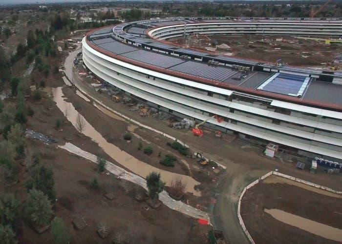 Avances Campus 2 de Apple