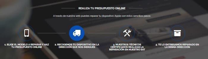 presupuesto ifixrapid reparar iphone ipad mac