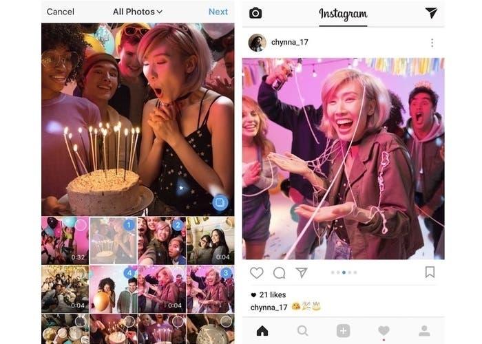 Instagram albumes 10 fotos