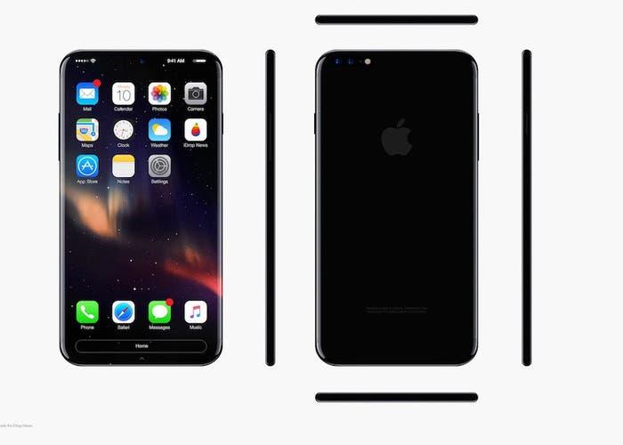 Posibles modelos de iPhone 8