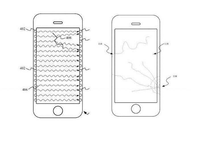iPhone nos podrá informar sobre grietas en la pantalla