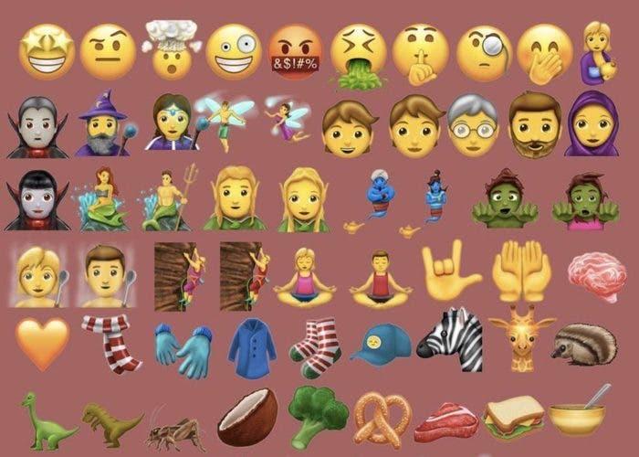 Nuevos emojis Unicode 10