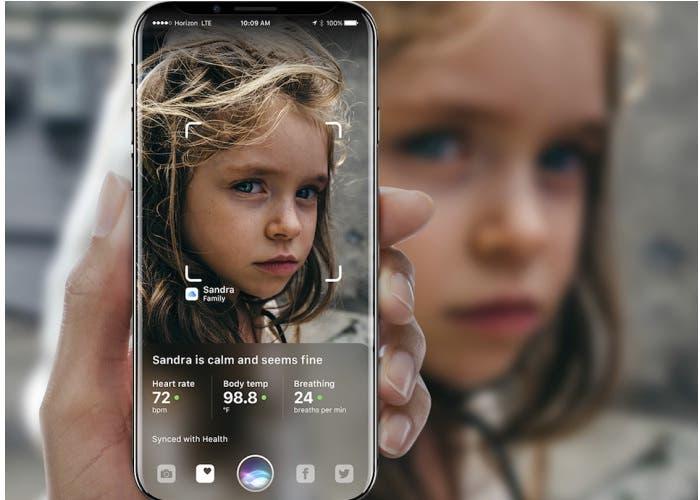 concepto iphone realidad aumentada