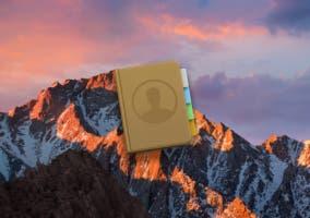 Aplicación contactos Mac