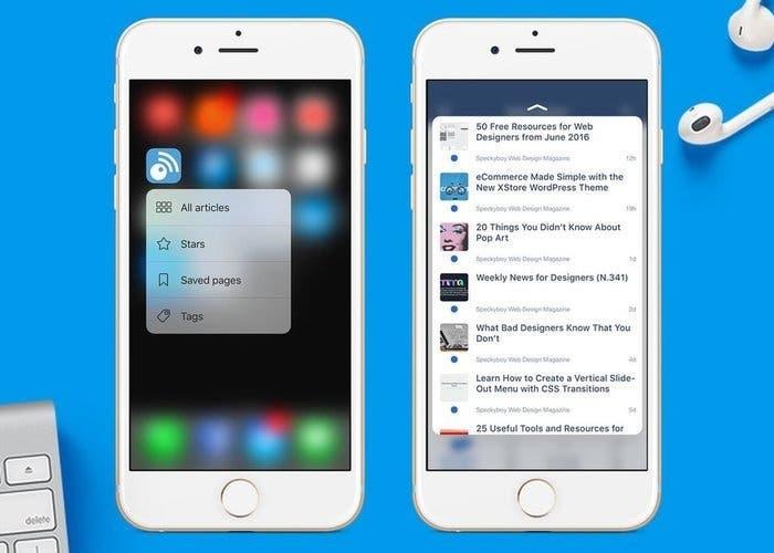 Inoreader iPhone