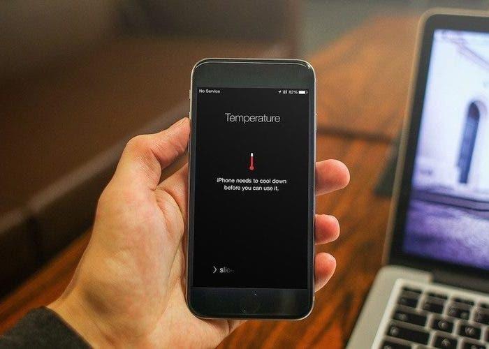 Cómo reparar iPhone sobrecalentado