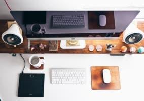 escritorio diseño apple