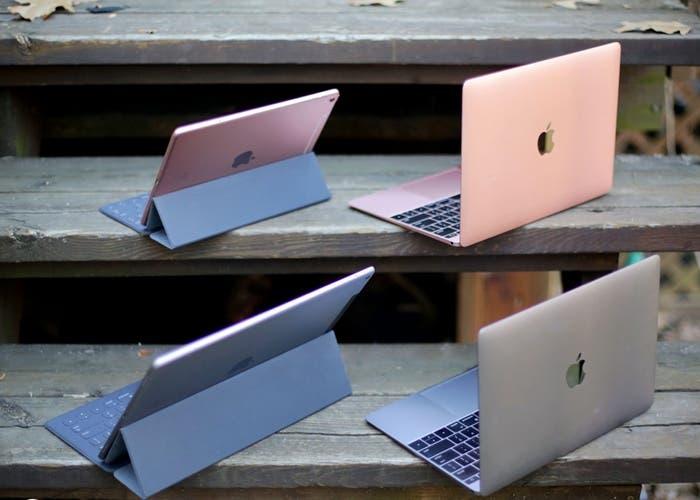 iPad Pro y MacBook