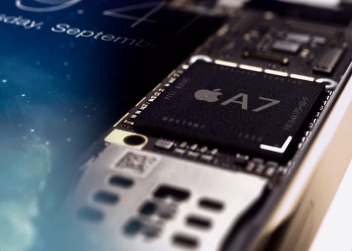 chip A7 iPhone