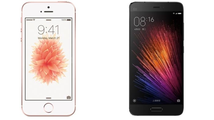 iphone se vs xiaomi