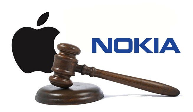 Apple vs nokia guerra patentes