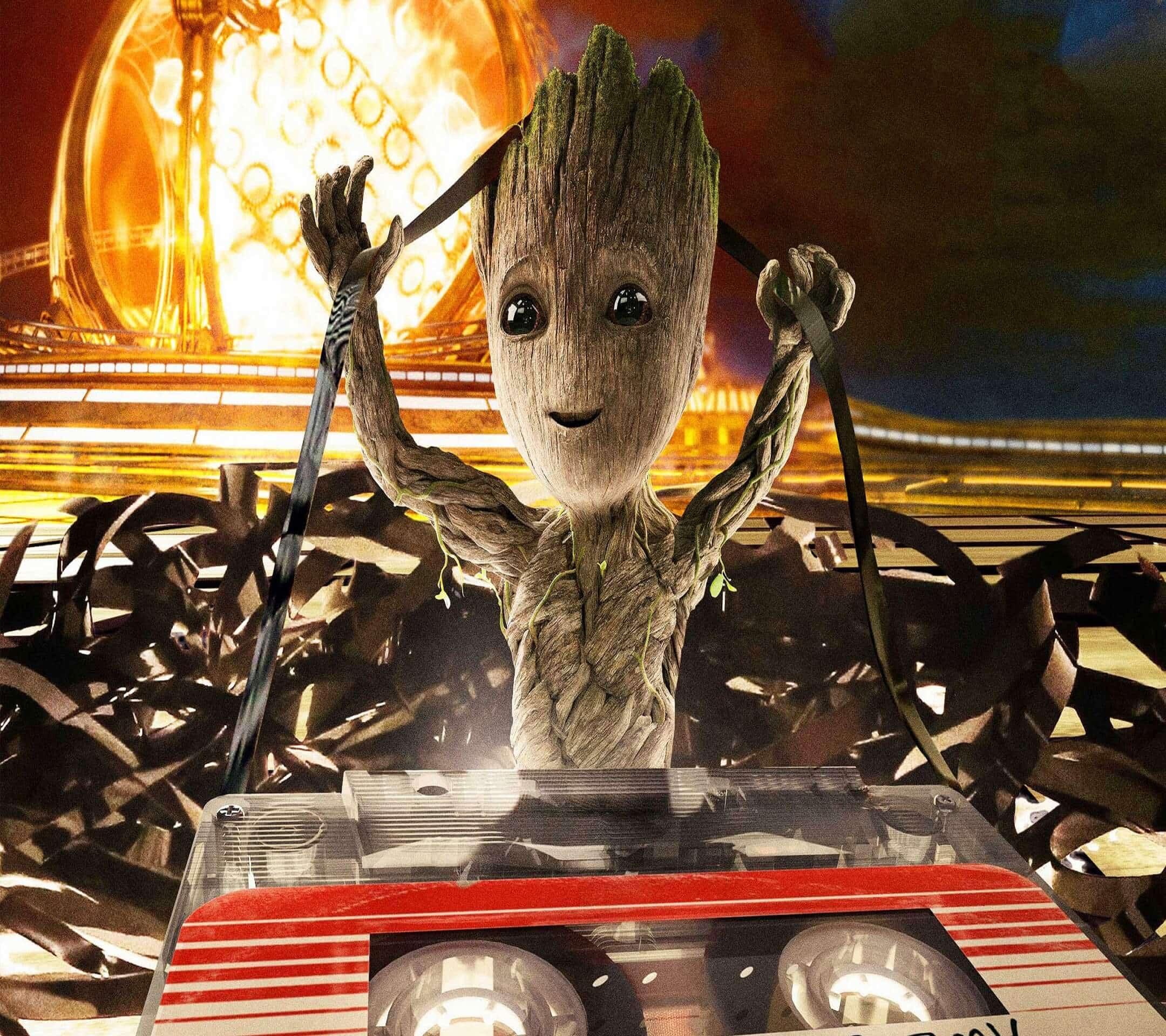Nos Encanta Baby Groot Y Estos Son Sus Mejores Fondos De