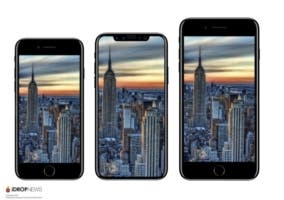 El tamaño del iPhone 8 sería intermedio entre el iPhone 7 y el iPhone 7 Plus
