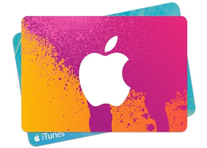 Tarjeta iTunes