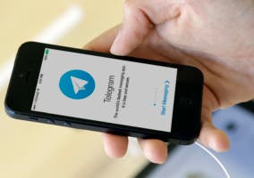 Hacer pagos en Telegram ios