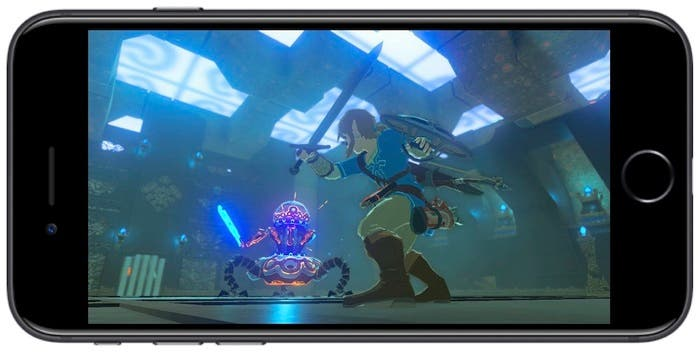 Zelda en iPhone