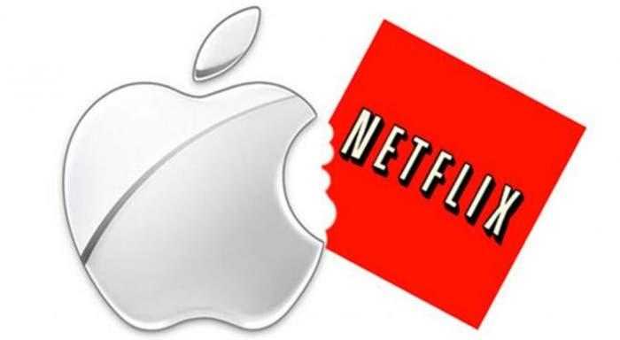 apple compra netflix