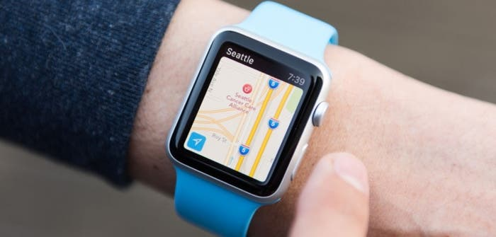 google maps applewatch
