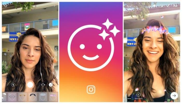 instagram filtros snapchat