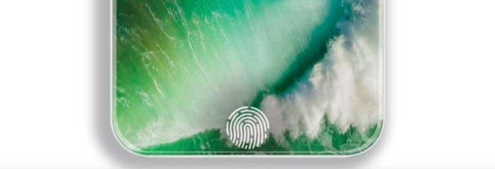 touch id en pantalla iPhone 8