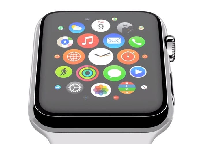 Pantalla microled de Apple Watch