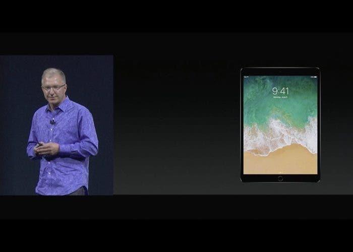 Así luce el iPad de 10,5″ y estas son sus funciones especificas de iOS