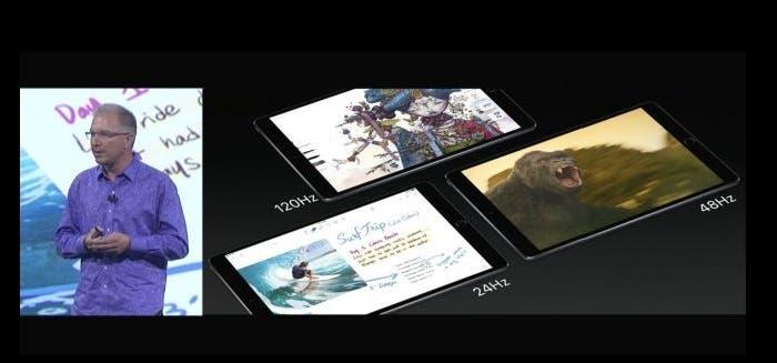 Caracteristicas especificas de iOS para iPad