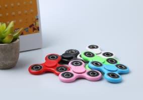 Fidget spinner un juguete antiestrés convertido en app