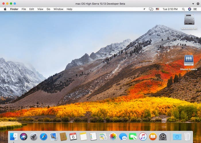 High Sierra background