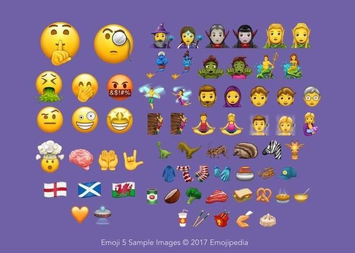 Unicode 10 llega con 56 nuevos emojis