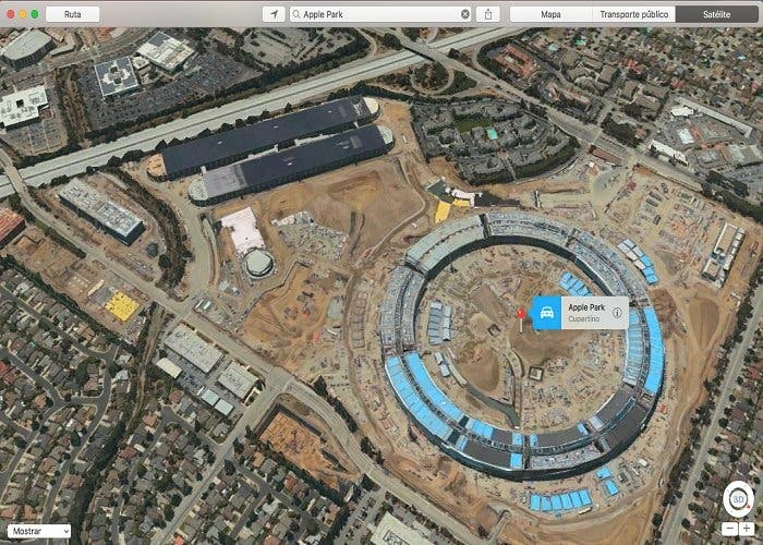 Apple park satelite