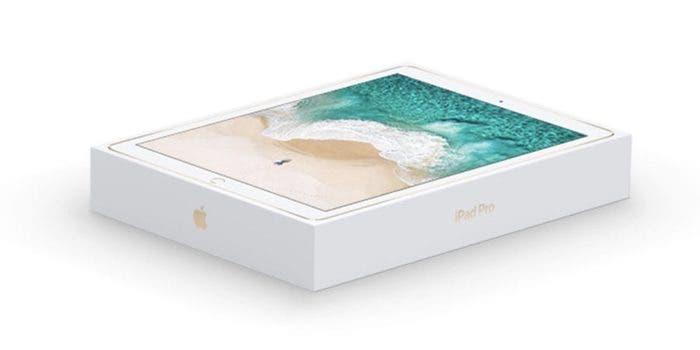 caja impresa wallpaper iPad Pro