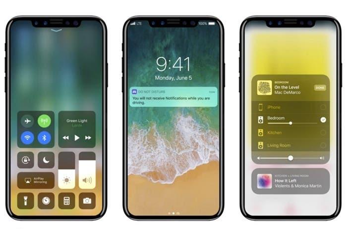 iphone x con iOS 11