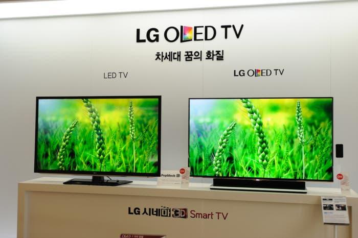 panel oled televisión LG