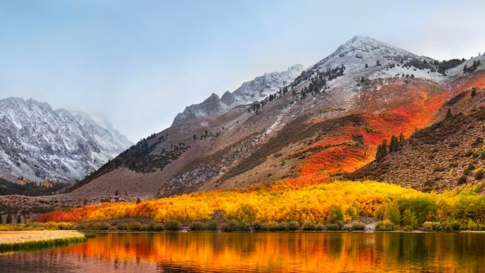macOS High Sierra wallpaper