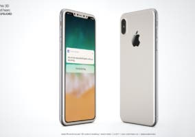 iphone 8 en color plata