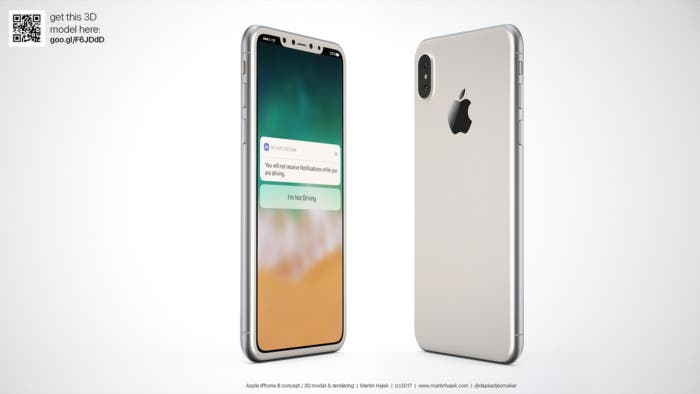 iphone 8 en color plata