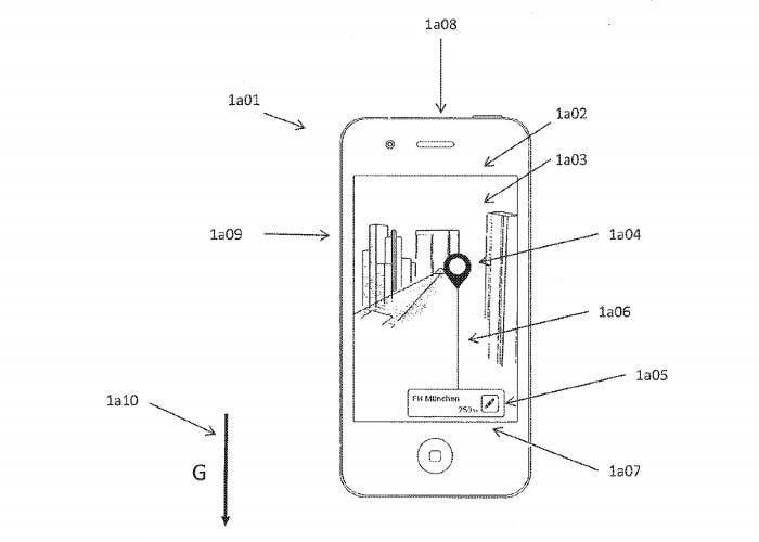 Patente Realidad Aumentada Apple