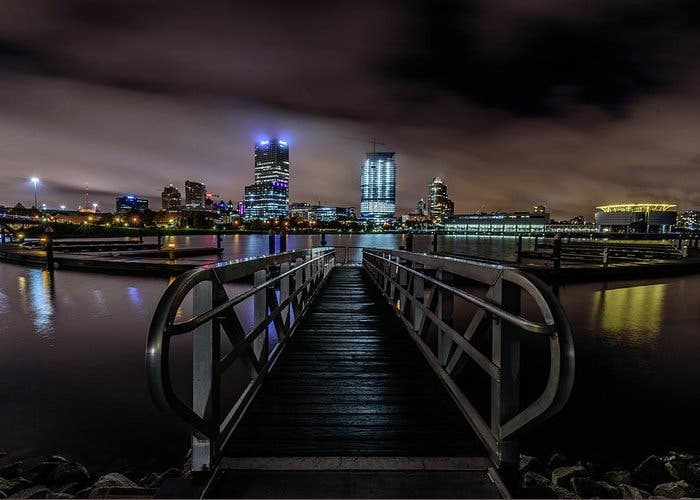 Milwaukee de noche